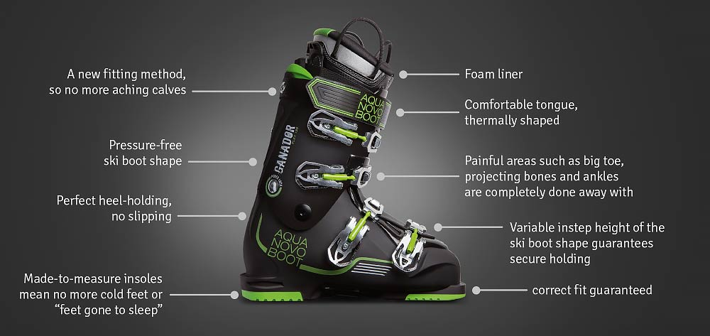 e4a2316753b5 AquaNovoBoot  Custom-made ski boots